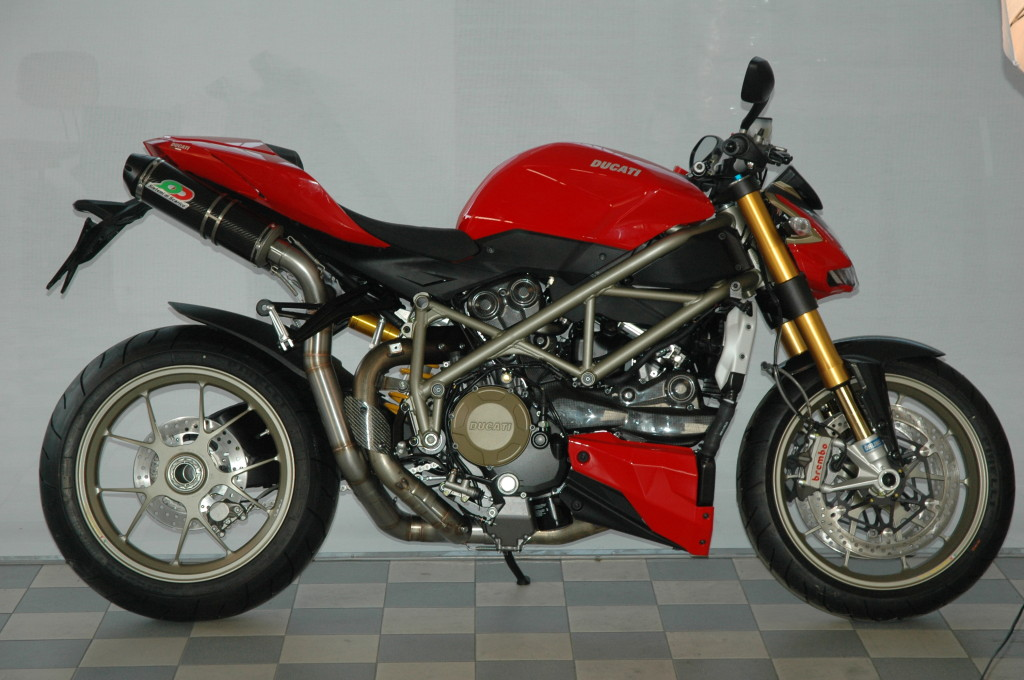 Ducati Streetfighter 848 1098, full exhaust system
