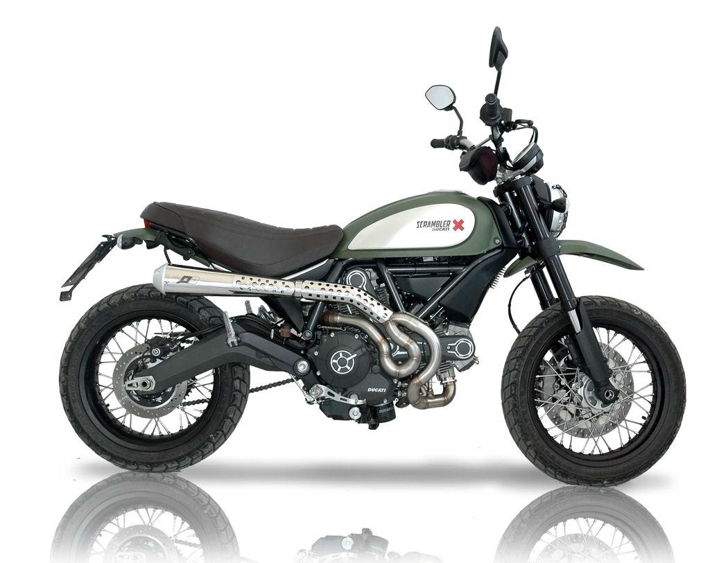 Ducati Scrambler Full System Qd Exhaust
