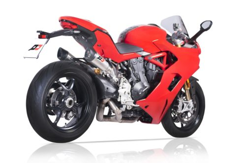 Ducati Supersport Full System 3/4 Twin Gunshot Titanium