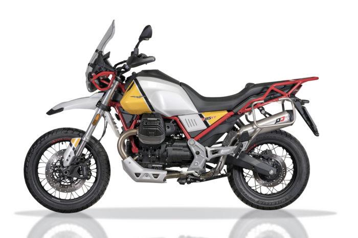 Impianto di Scarico Moto Guzzi V85TT | QD Exhaust